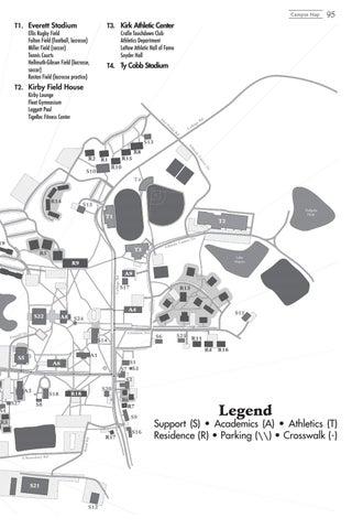 Hampden Sydney Campus Map.The Key Student Handbook 2018 By Hampden Sydney College Issuu
