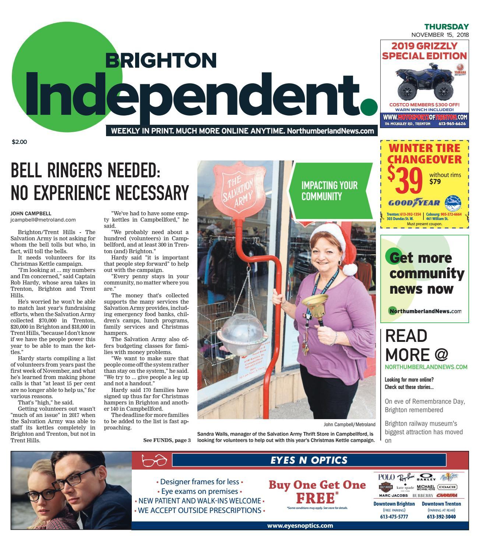BRI_A_20181115 by Metroland East - Brighton Independent - issuu