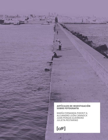 Artculos De Investigacin Sobre Fotografa By Centro De Fotografa