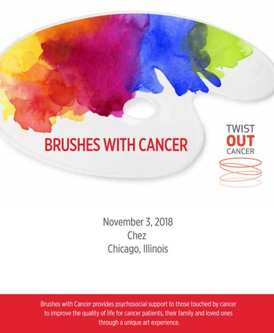 Brushes with Cancer Chicago 2018 by Jenna Benn Shersher - issuu