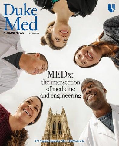 Duke University School of Medicine Alumni News magazine, Spring 2018