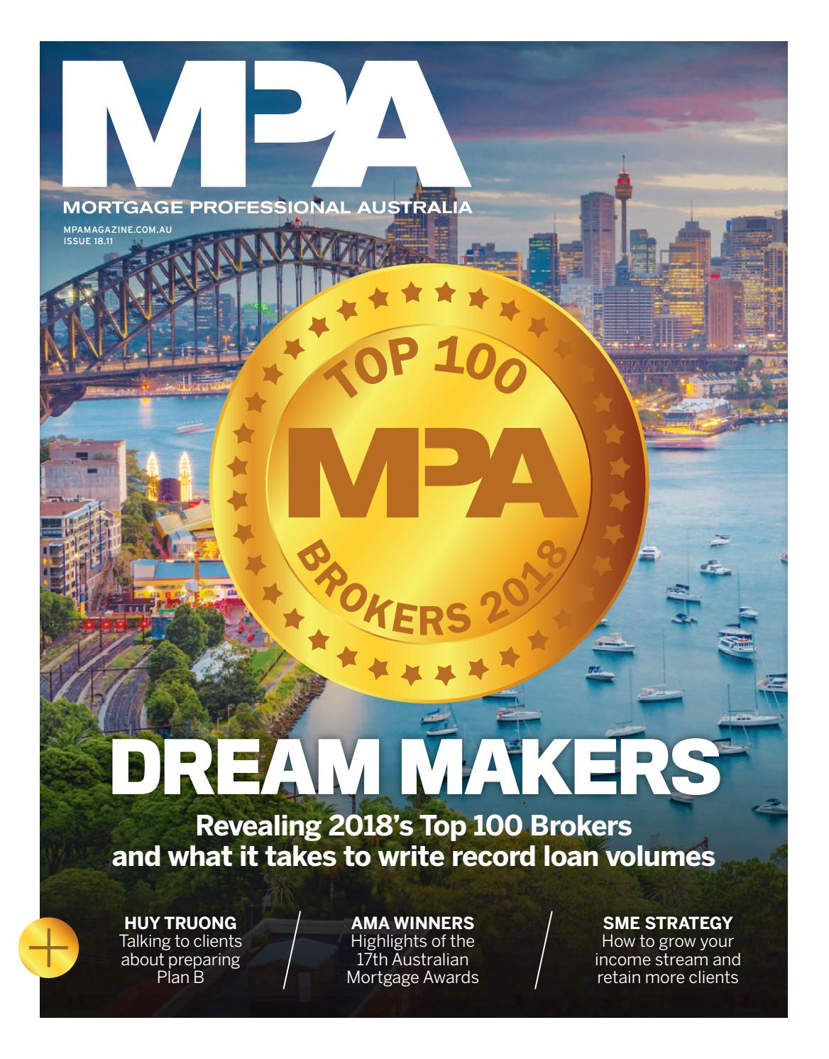 Mortgage Professional Australia issue 18 11 by Key Media - issuu