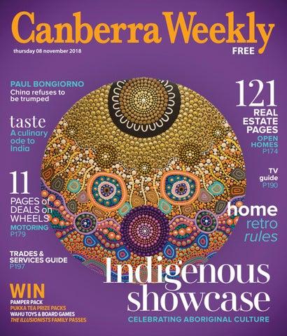 f54b9cac7e1 08 November 2018 by Canberra Weekly Magazine - issuu