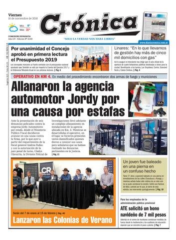 1bd1ccb52fe56 Diario cronica 16 11 2018 by Diario Crónica - issuu