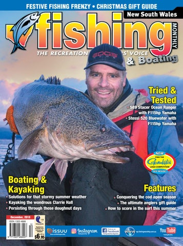 47998cad811 NSW Fishing Monthly December 2018 by Fishing Monthly - issuu
