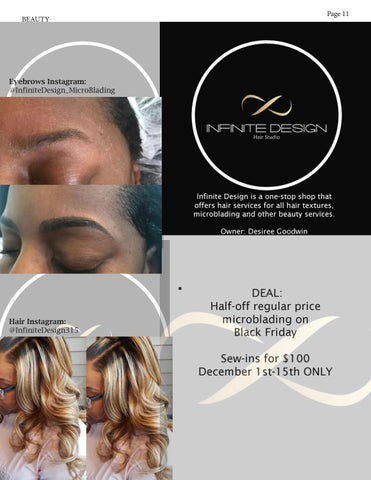 Page 11 of Infinite Design Hair Studio