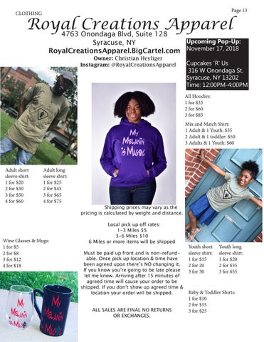 Page 13 of Royal Creations Apparel