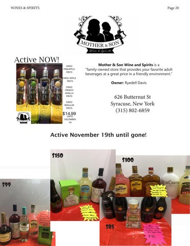 Page 20 of Mother & Son Wines & Spirits