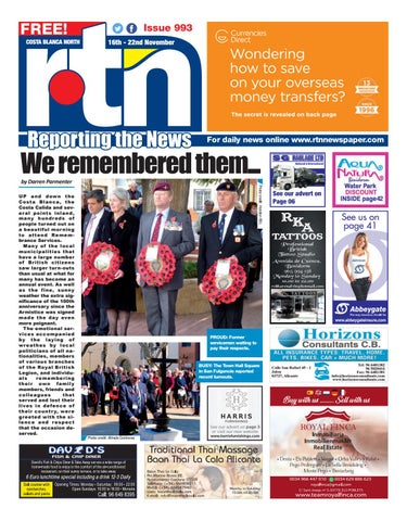 342867d14bf92 RTN Newspaper - Costa Blanca North 16-22 November 2018 Issue 993 by ...
