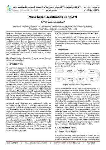 IRJET- Music Genre Classification using SVM by IRJET Journal