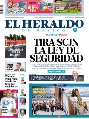 b9a170a8b83a 16 de noviembre de 2018 by El Heraldo de México - issuu