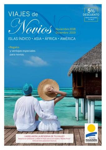 """Cover of """"Viajes de Novios 2019"""""""