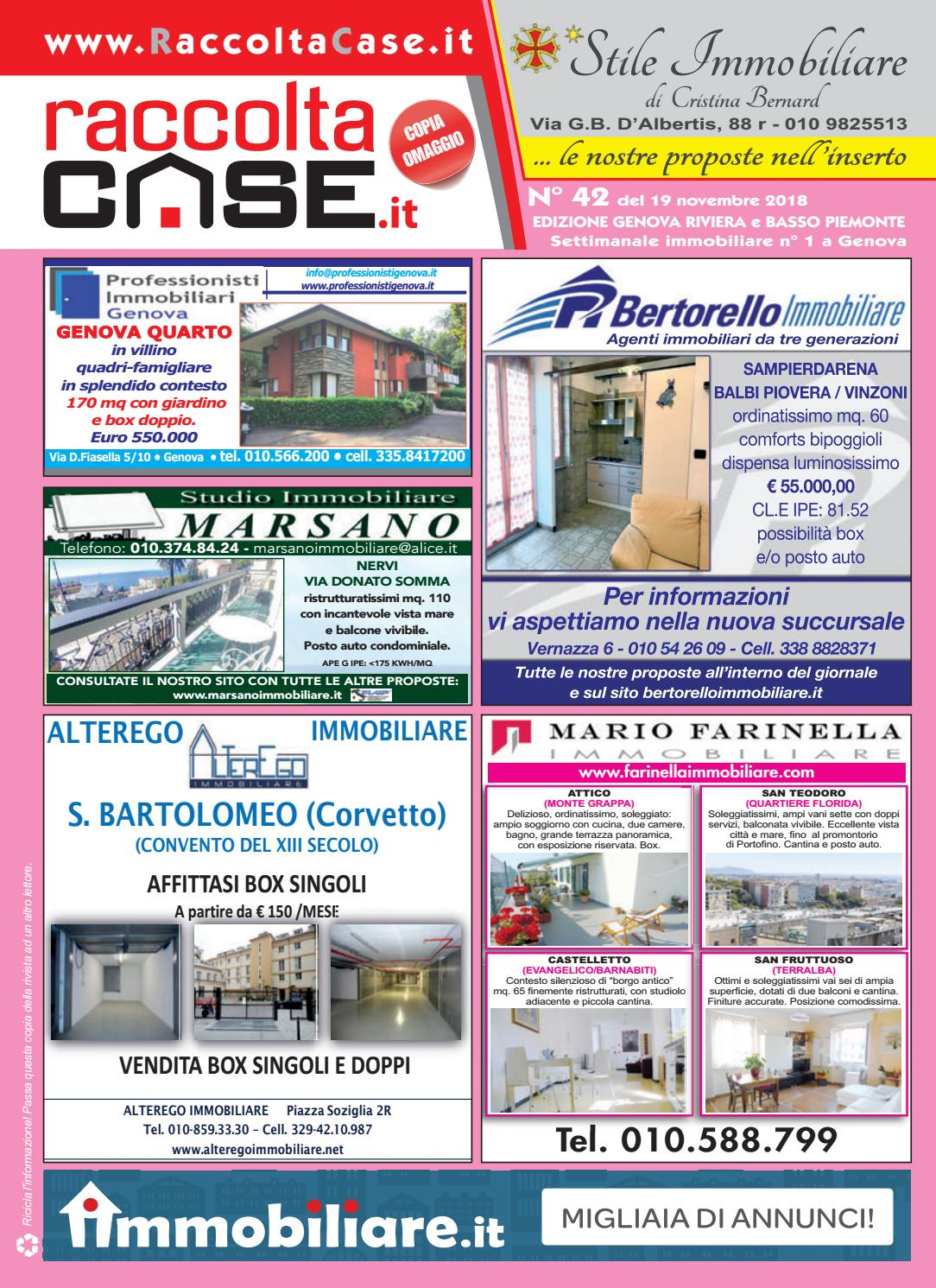 Raccoltacase Genova Publidok 42 By r lIssuu 2018 S q5AR4Sc3jL
