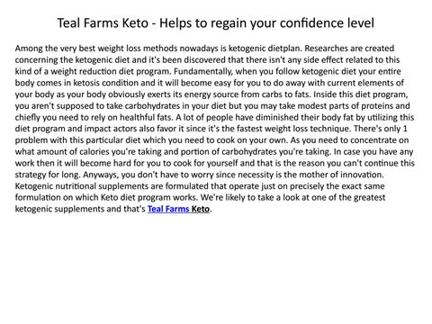 The Meaning Of Best Slim Power By Teal Farms Keto Issuu