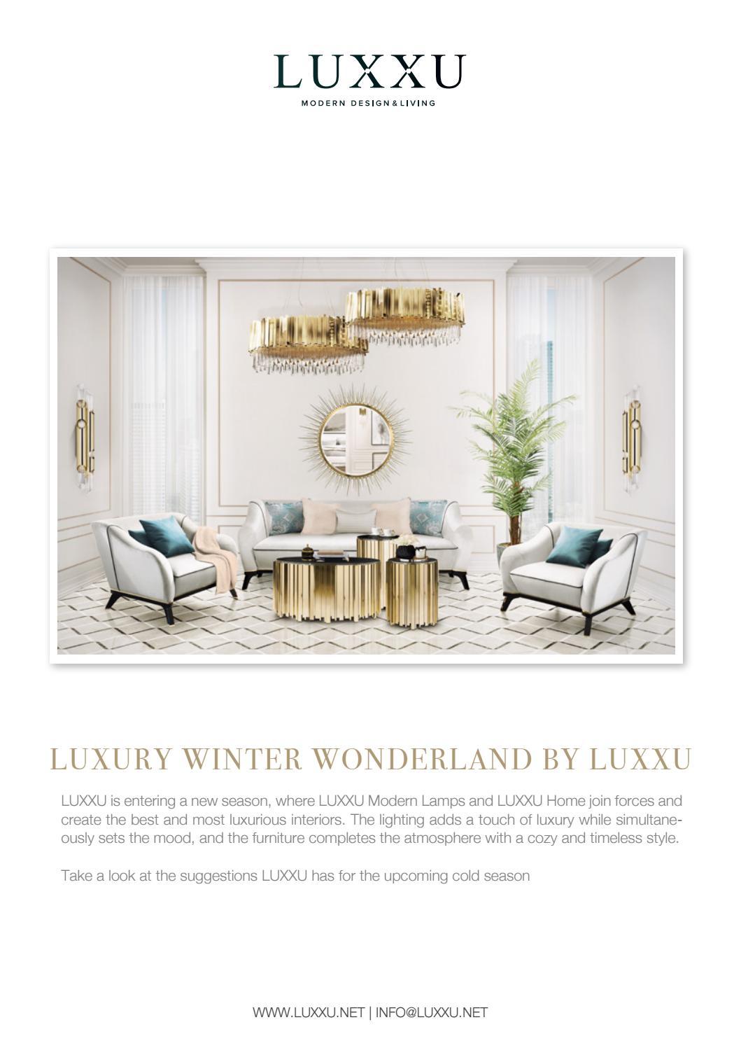 Luxury Winter Wonderland by LUXXU by Luxxu Modern Design & Living ...
