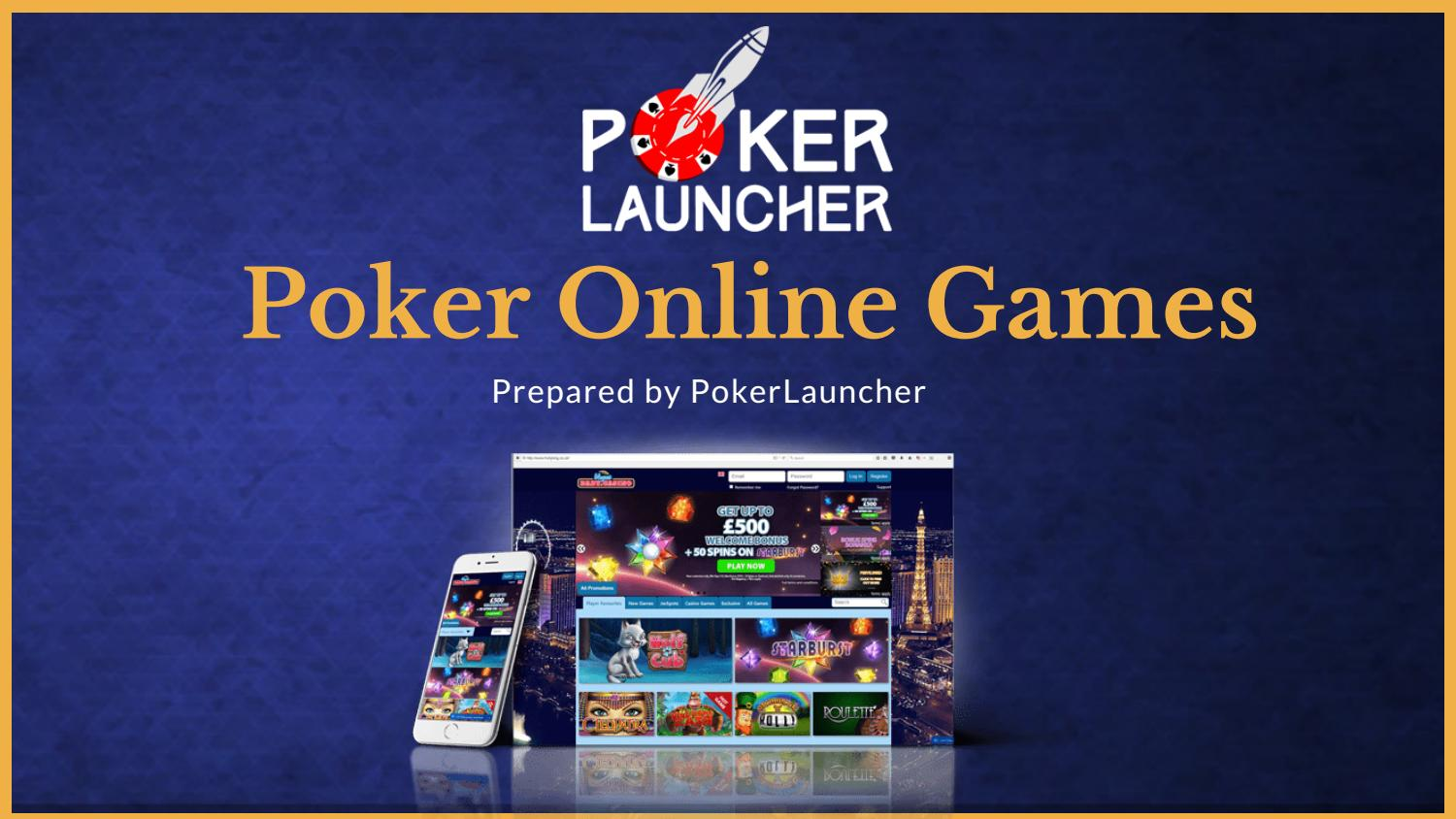 Where to play poker online, free