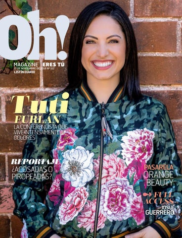 Oh Magazine 17-11-2018 by Listín Diario - issuu 5e74d65fbae