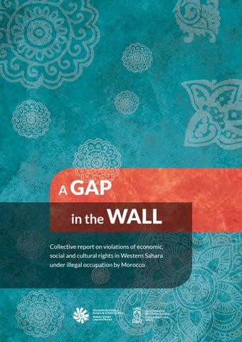 f077cea69 A gap in the wall (English and arabic version) by Sahara Gasteiz - issuu
