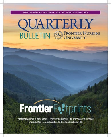 Fnu Quarterly Bulletin Fall 2018 Volume 93 Number 3 By Frontier