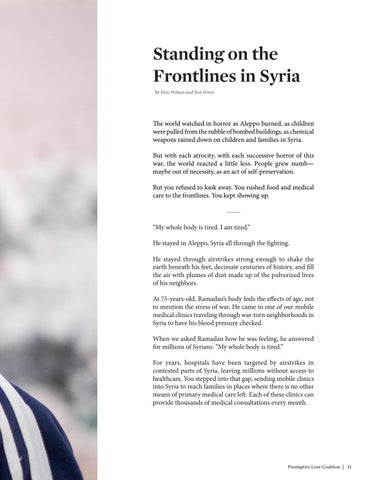 Page 33 of Standing on the Frontlines in Syria