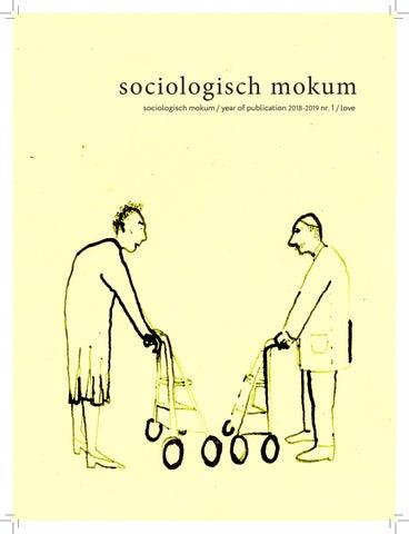 SOMO 2018 - 2019 nr  1 - Love by Sociologisch Mokum - issuu