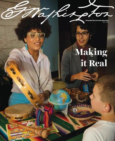 Fall 2018 Washington College Magazine by Washington College