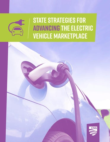 Page 1 State Strategies For Advancing The Electric Vehicle Marketplace