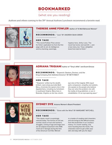 Page 10 of Bookmarked, October 2018