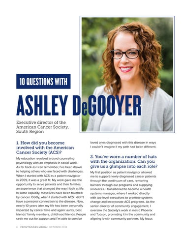 Page 6 of 10 Questions with Ashley DeGooyer