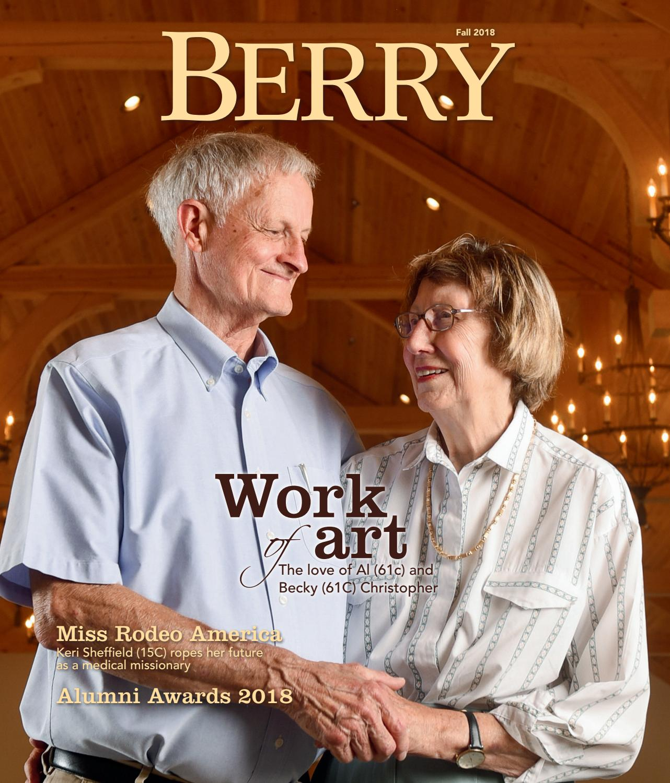 f3dda395 Berry Magazine - Fall 2018 by Berry College - issuu