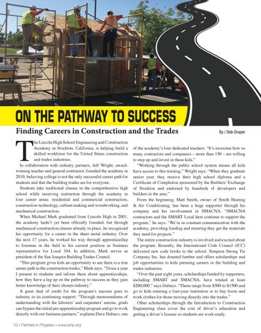 Page 10 of On the pathway to success