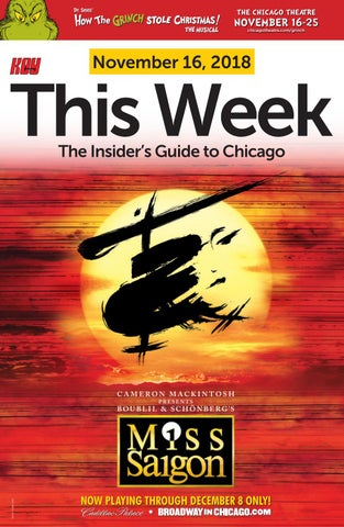KEY this Week in Chicago, November 16, 2018 Issue by KEY