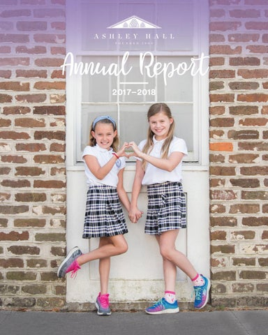 Annual Report   2017-2018 by Ashley Hall - issuu