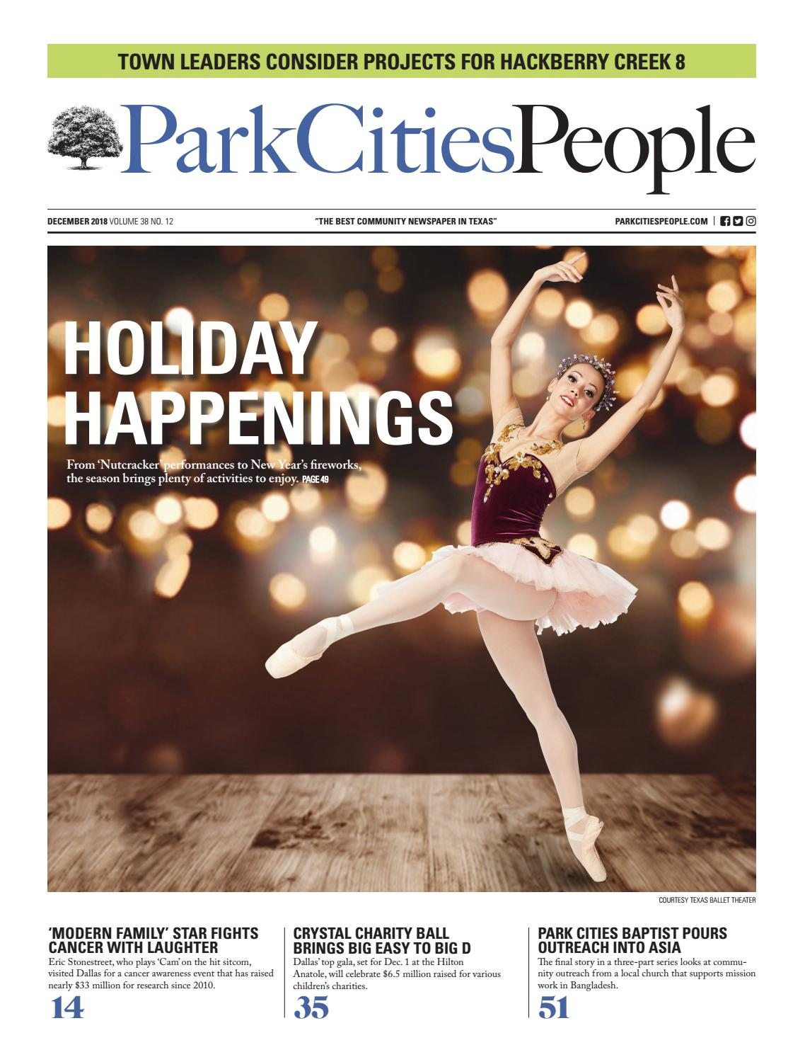 6916a51b4 Park Cities People December 2018 by People Newspapers - issuu