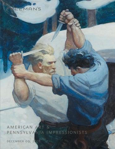 American Art Pennsylvania Impressionists By Freemans Issuu