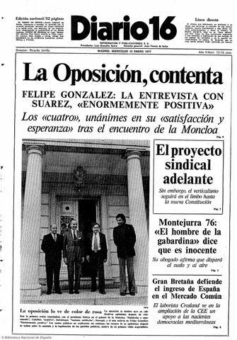 a5f1dd95 Diario 16. 12-1-1977 by diario16deburgos - issuu