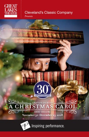 f9ea5e3e7230a A CHRISTMAS CAROL Playbill - Winter 2018 by Great Lakes Theater - issuu