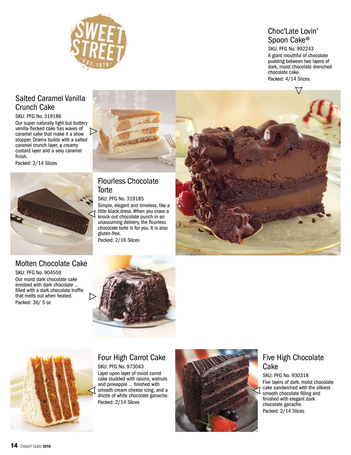 Dessert Guide 2018 By Performance Foodservice Issuu