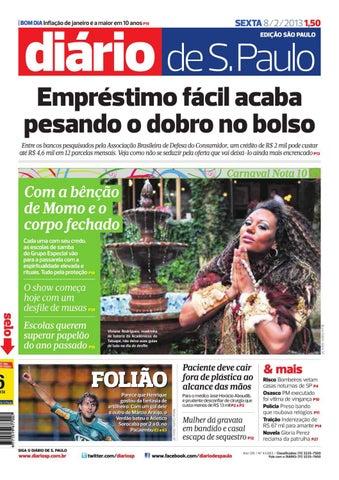 Jornal Diário de São Paulo N° 43083 by Portal Academia do Samba - issuu f781da9474b2a