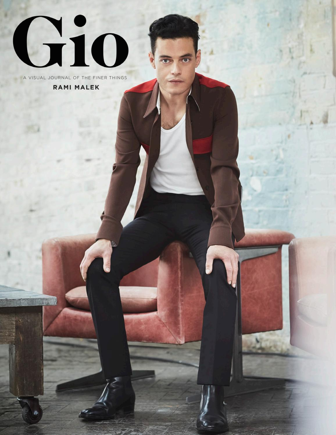 6d99c0a49cd6a8 Gio Journal - Rami Malek by giojournal - issuu