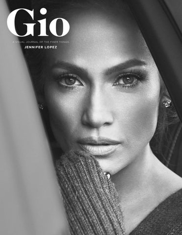edef23a9e Gio Journal Issue 3 - Jennifer Lopez by giojournal - issuu