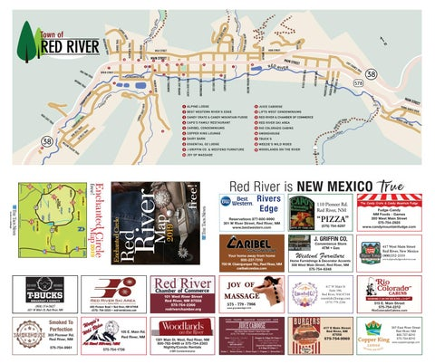 Enchanted Circle Map 2019 By The Taos News Issuu