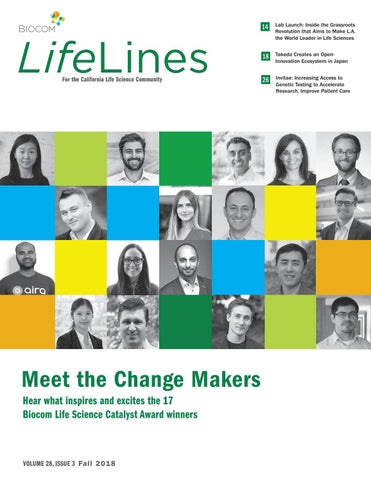 LifeLines, Fall 2018 by Biocom - issuu