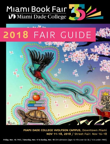 2018 Miami Book Fair Guide By Miami Book Fair Issuu