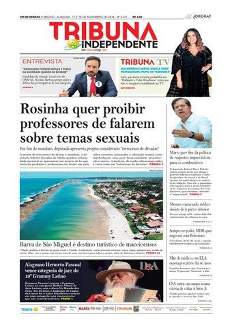FIM DE SEMANA n MACEIÓ - ALAGOAS - 17 E 18 DE NOVEMBRO DE 2018 - Nº 3.271 - d9fd589ebd8f4