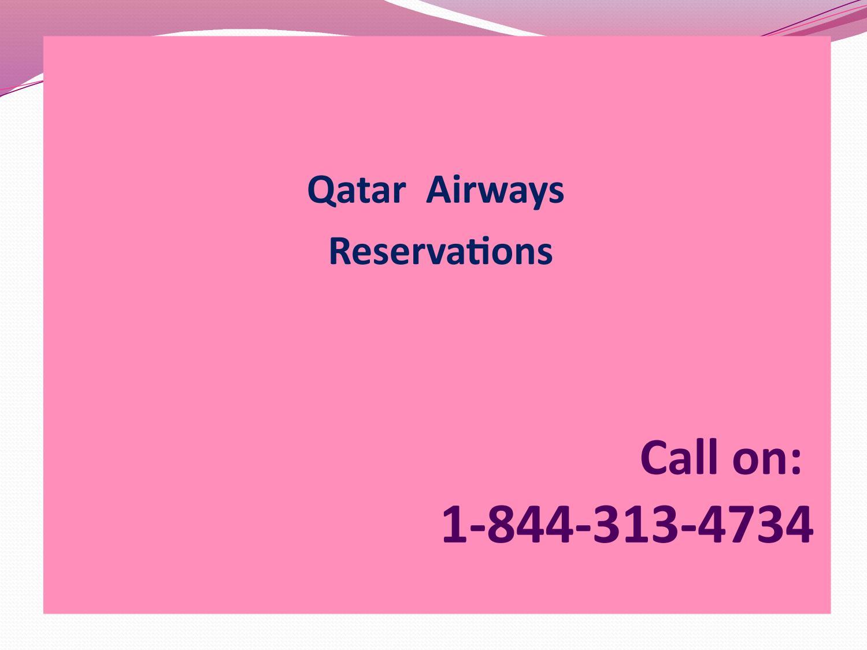 Reserve your flight ticket on Qatar Airways Reservations