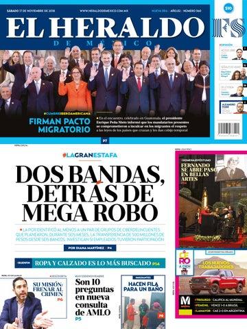 17 de noviembre de 2018 by El Heraldo de México - issuu f46eb61f4cc