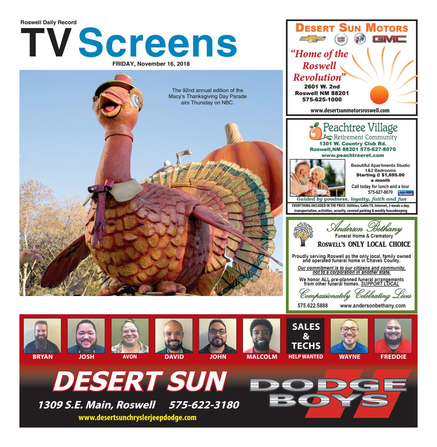 3d98dfbbc2aad Screens 11 16 18 by Roswell Daily Record - issuu