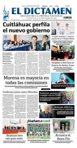 El Dictamen 17 de Noviembre 2018 by El Dictamen - issuu 1de03f43d05