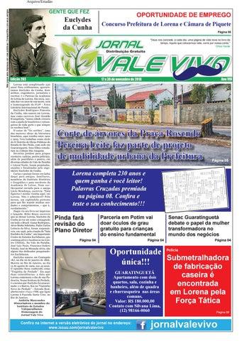 49f82b1220937 Edição 203 by Jornal Vale Vivo - Issuu